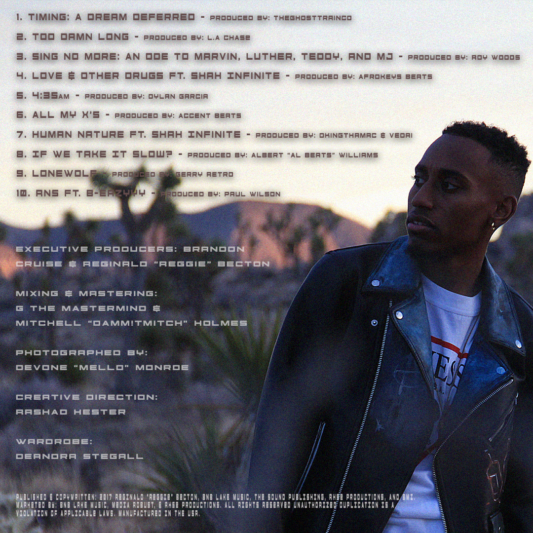 Official Tracklisting Artwork