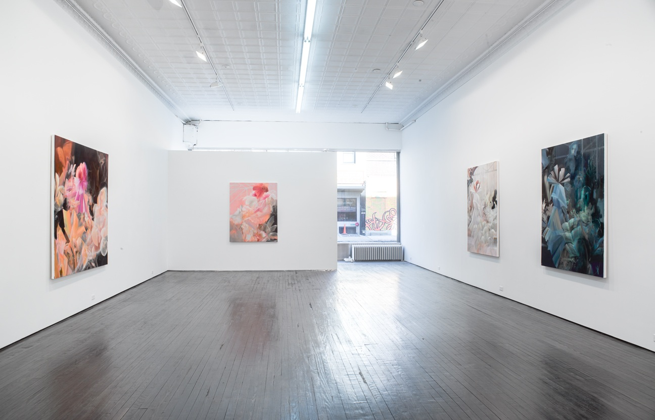 Installation of solo exhibition at Nicelle Beauchene Gallery, NYC