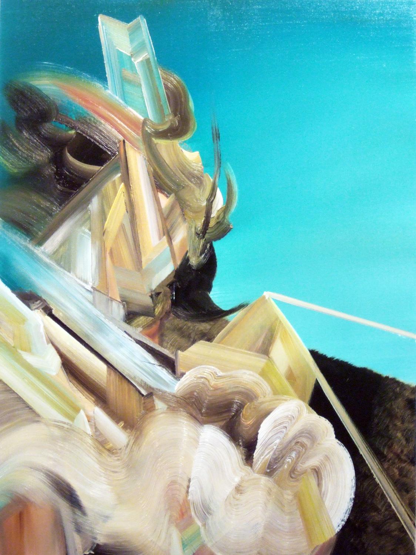 Shady Lady, 2010, oil on canvas