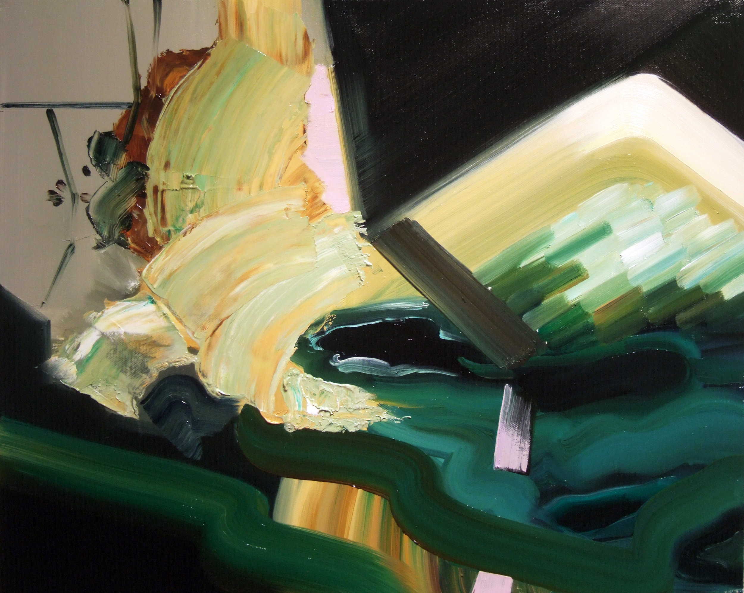 The Night Swim, 2010, oil on canvas