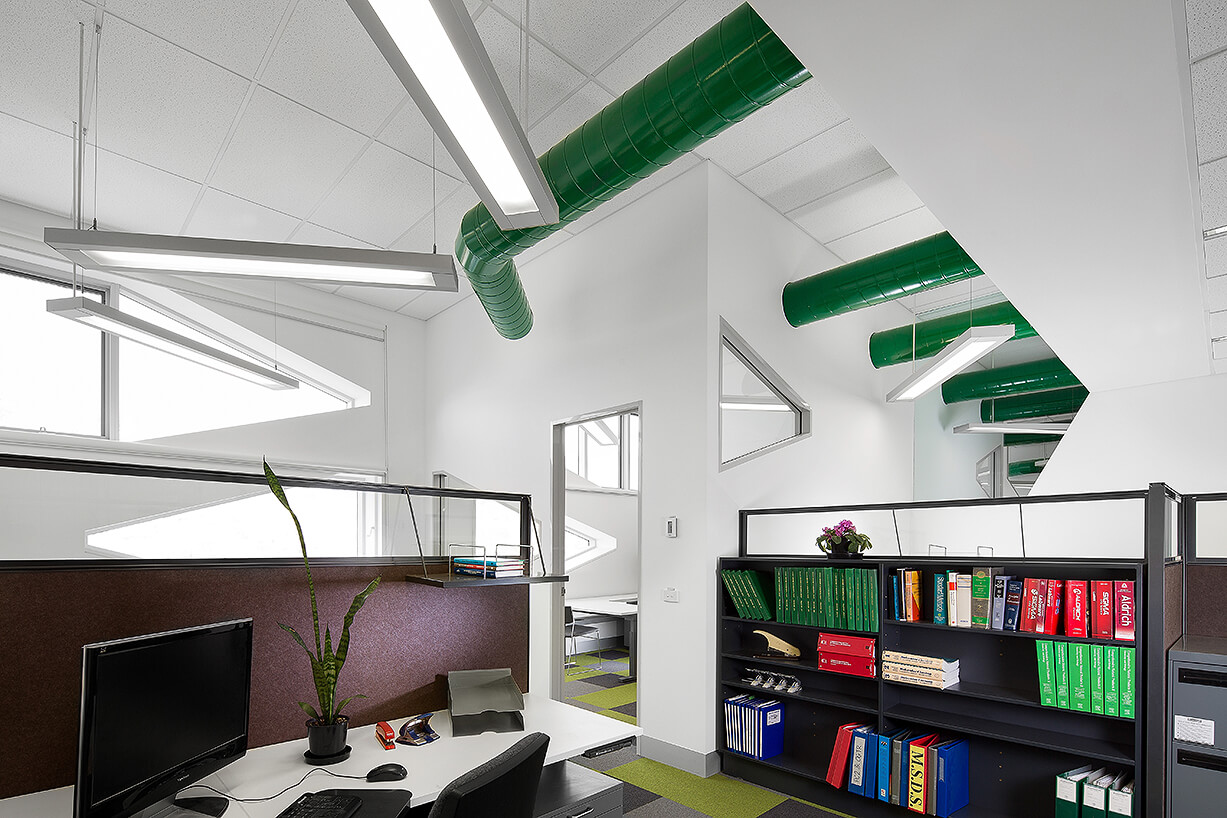 Architect designed office space photography