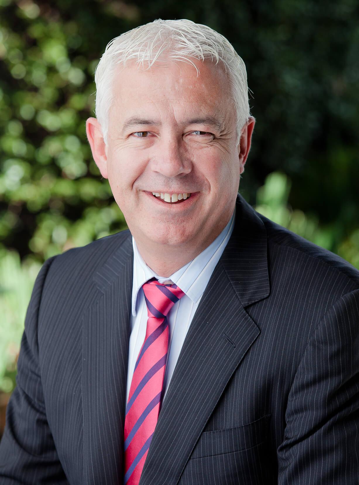 LinkedIn portrait photograph of Melbourne business person