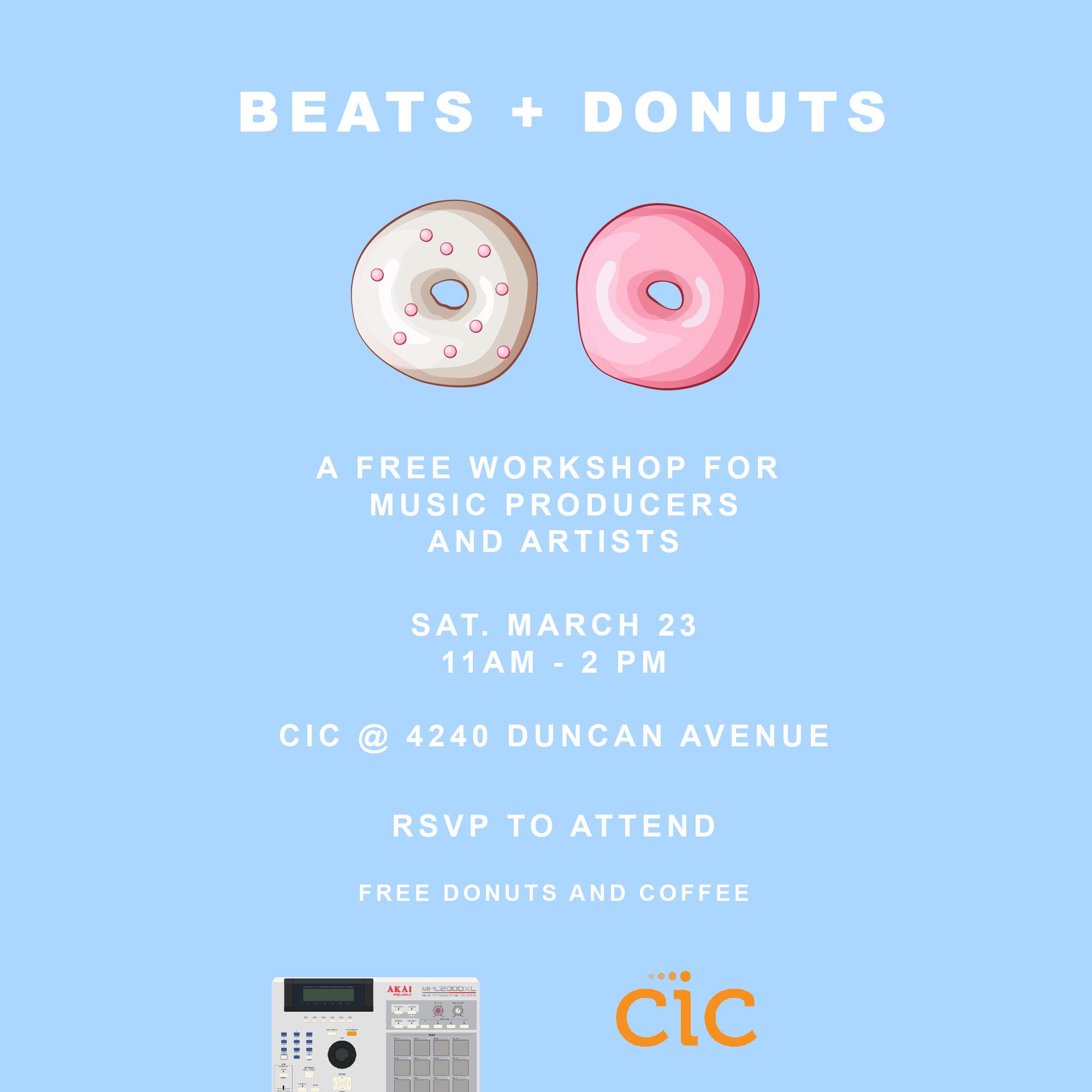 Beats + Donuts STL