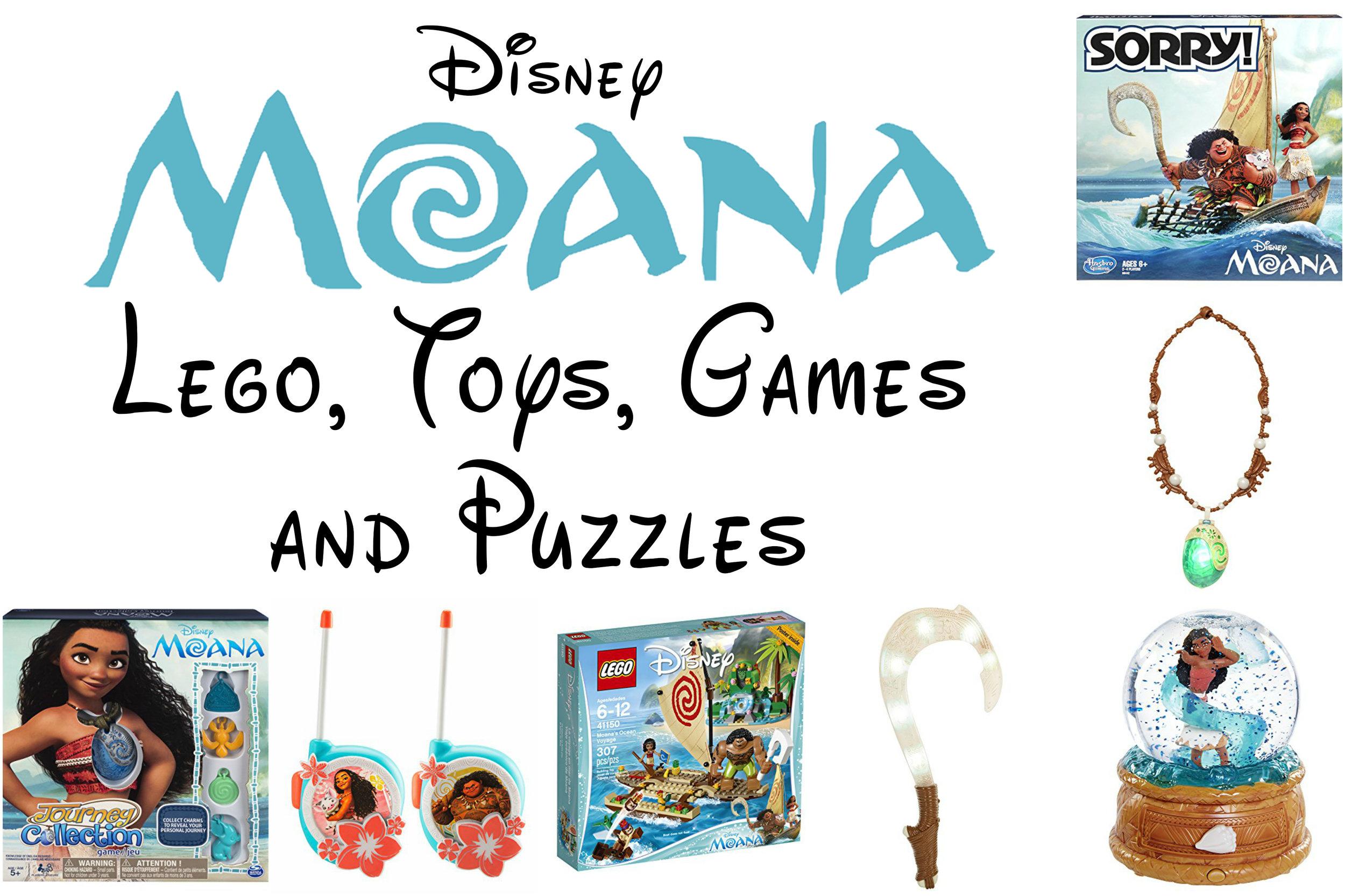 Disney Moana Lego, Toys and Games