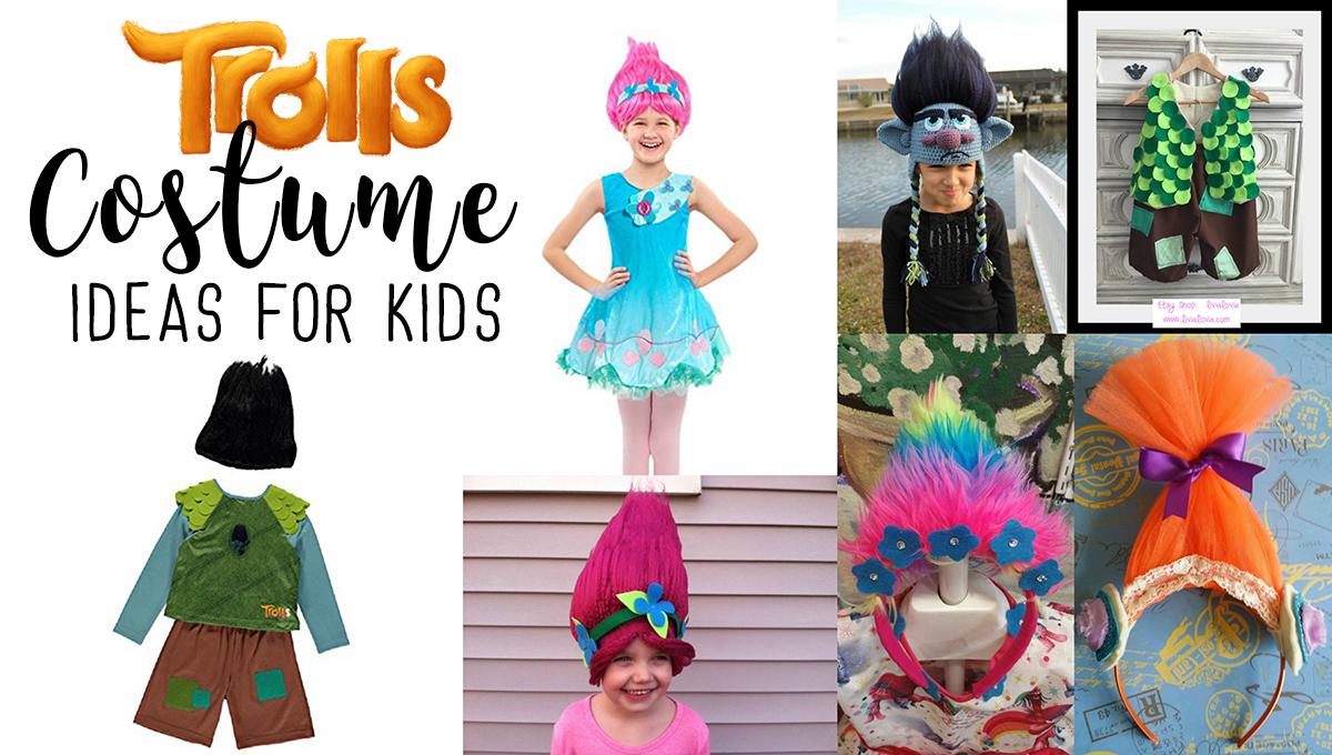 Trolls Costume Ideas For Kids
