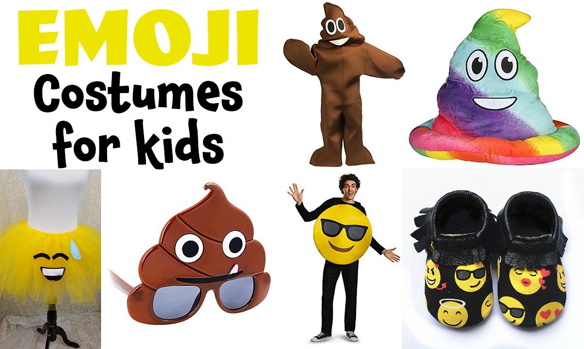 Emoji Costumes For Kids