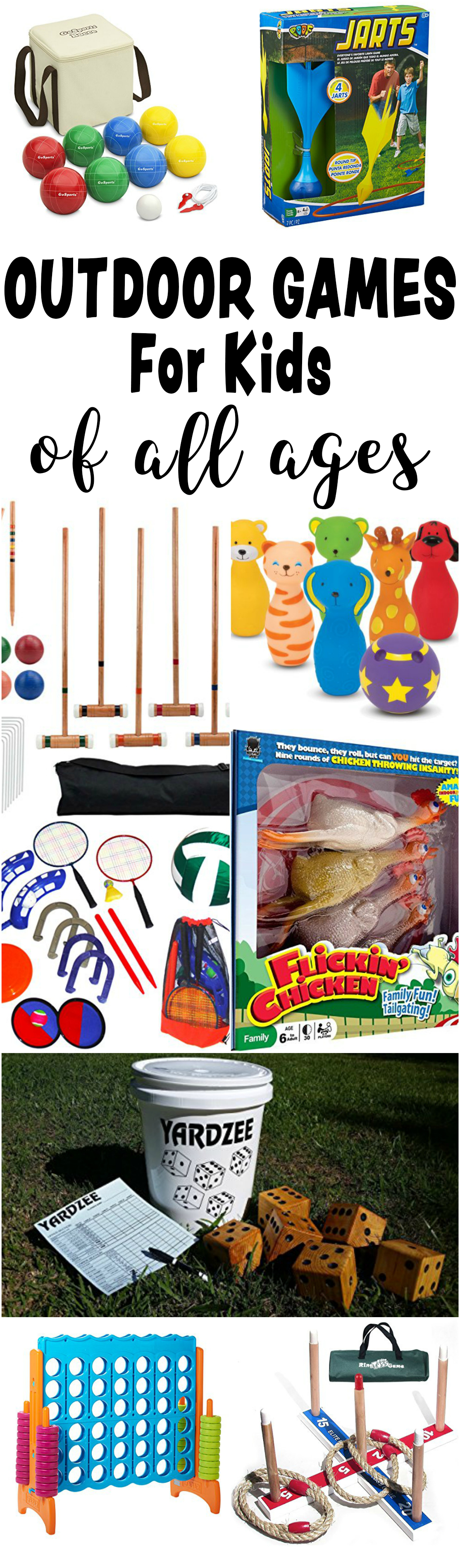 Fun Outdoor Games For kids Of All Ages