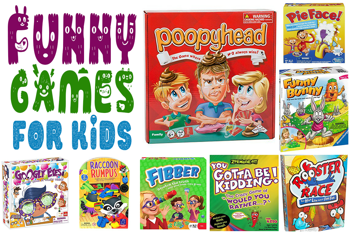 Funny Games For Kids
