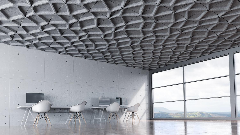 Voronoi Ceiling Tile