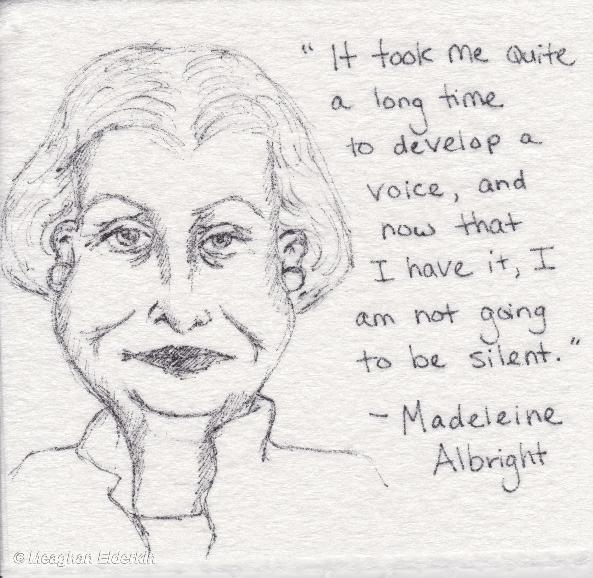 Madeleine Albright - American politician and diplomat