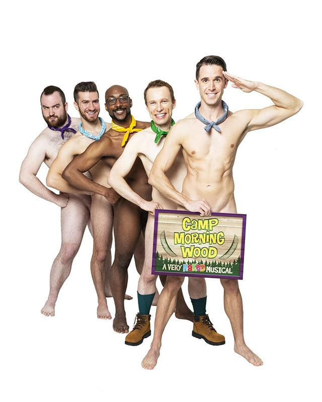 We're thrilled to have the cast of Camp Morning Wood LIVE in the flesh at tonight's NIGHT WOOD underwear party launch at Chelsea Music Hall!  We have a clothes check, so come pitch your tent with us! $10 advance tix in bio . . . #gay #gayevent #gaynyc #gaynycnightlife #underwear #underwearparty #gayparty #instagay #instahomo #gaysofinsta #nycgays #gaysofnyc #guysocial #gaysocial