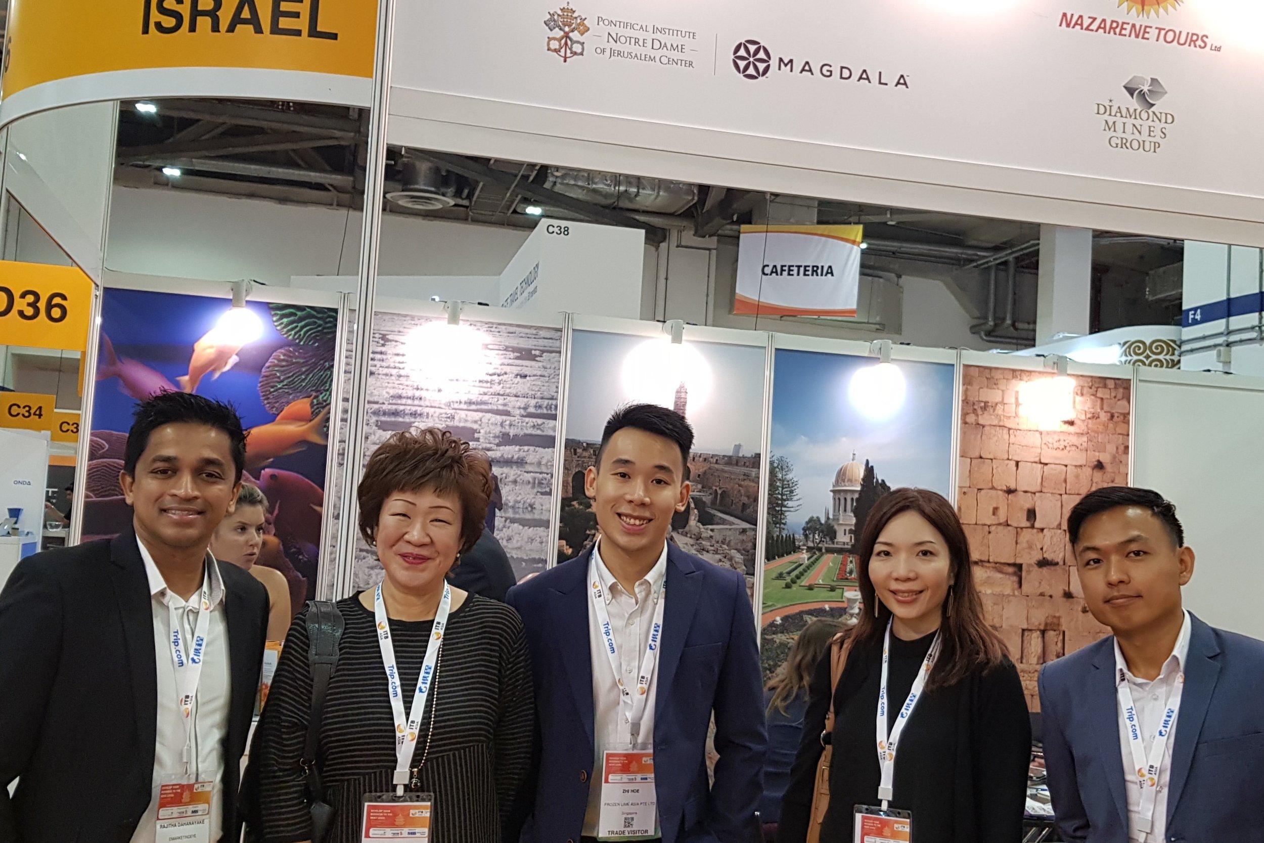 From left to right: Mr Rajitha Dahanayake (eMarketingEye), Ms Aileene Thangaveloo (FLA), Mr Pow Zhi Hoe (FLA), Ms Jasmine Teow (FLA), Mr Leonard Chiang (FLA).