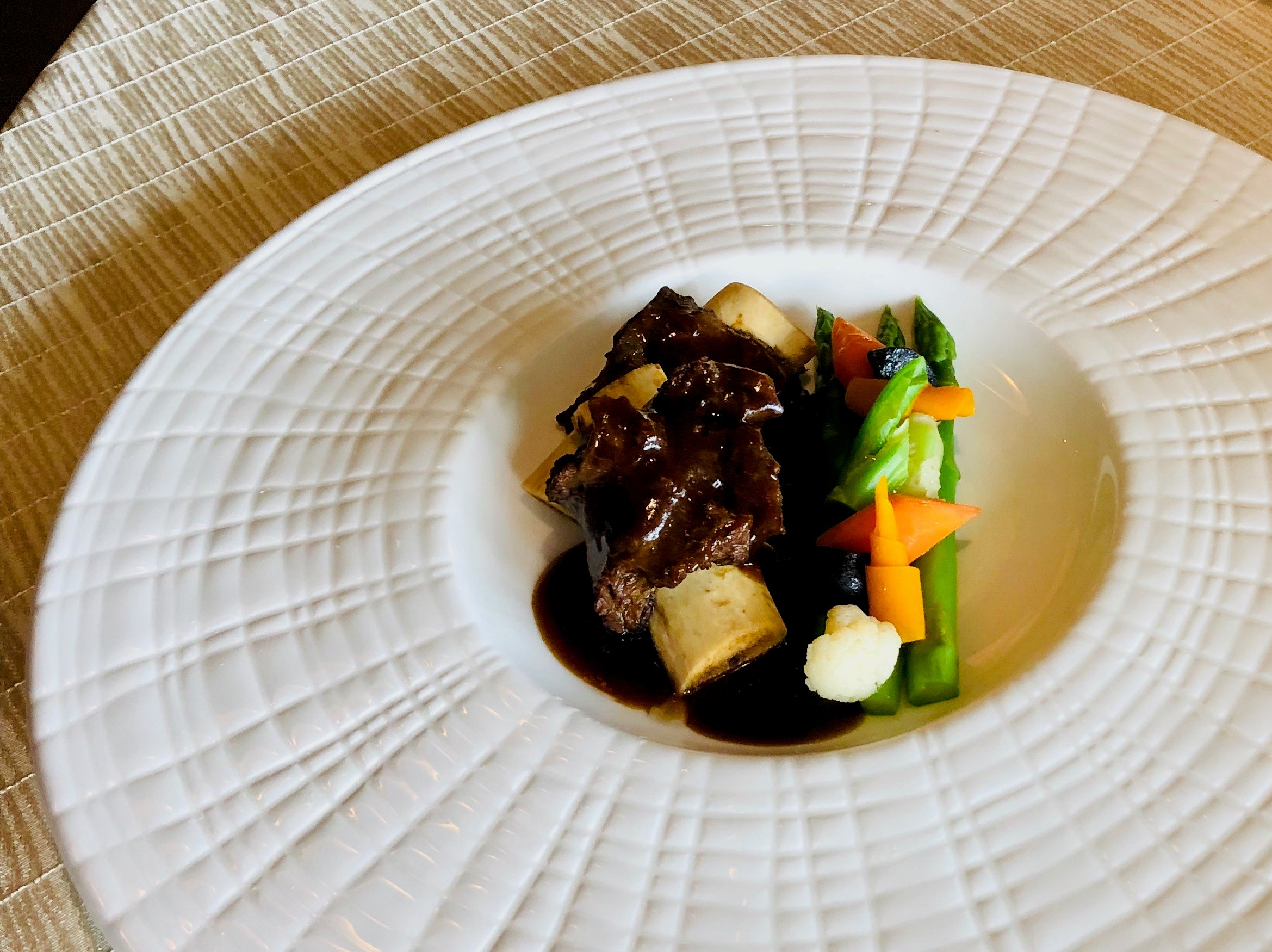 Dish 1 - Braised Beef with Wood Ear Mushrooms and Radish in claypot or plate.JPG