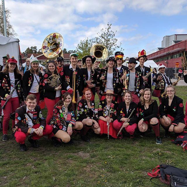 @altekamereren är framme och har spelat vår första spelning på @studentorkesterfestivalen!  Vi gör vårt bästa för att visa vad Lunds ösigaste studentorkester och balett låter och uppträder!