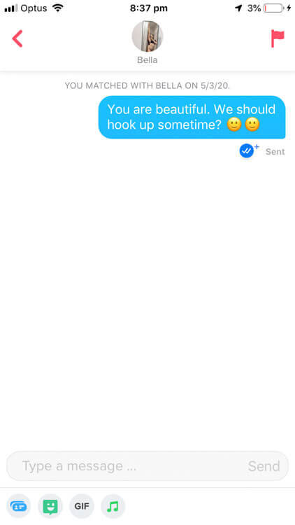 13 Sexual Tinder Pick Up Lines That Actually Work Zirby Tinder Made Easy