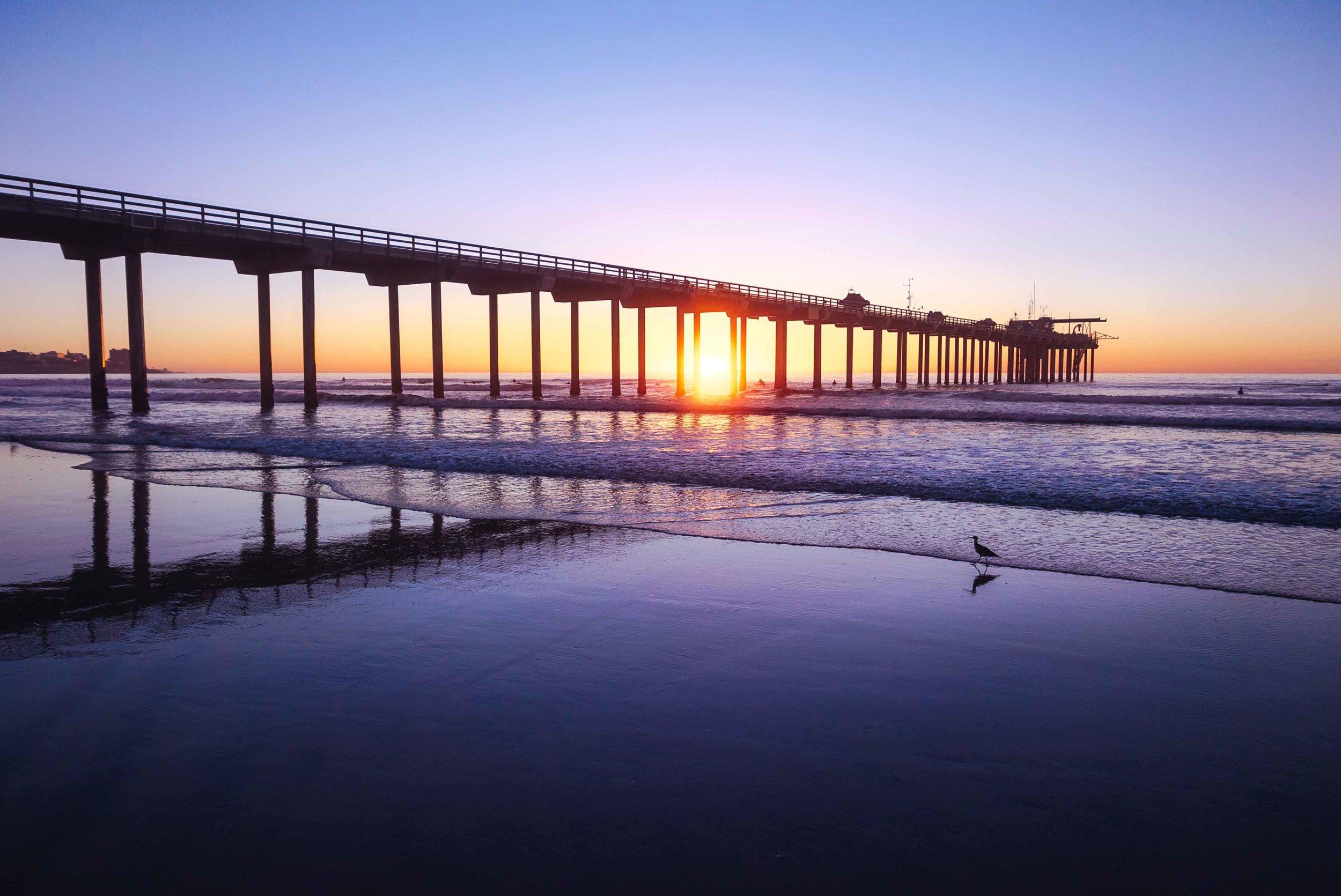 Scripps Pier, La Jolla, California