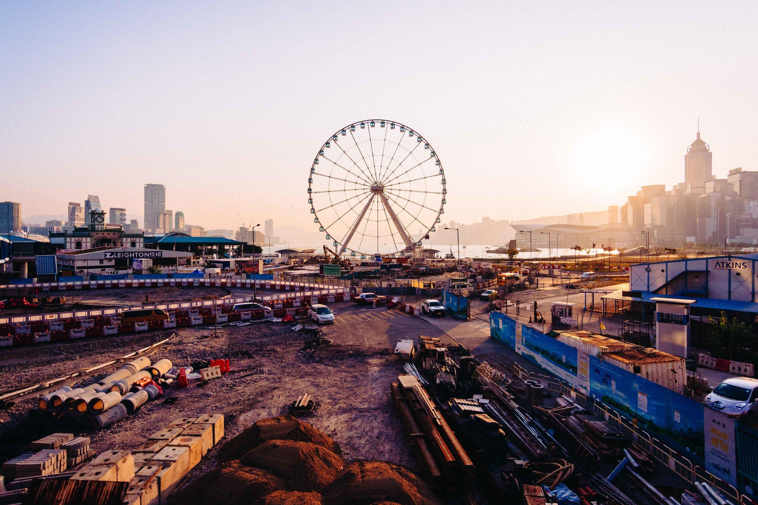 Hong Kong Observation Wheel, Central, Hong Kong