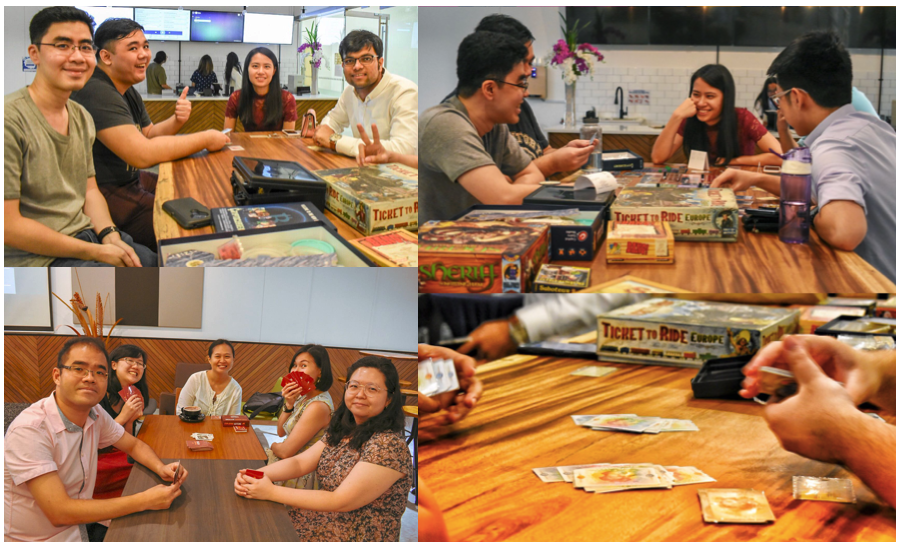 SMU Alumni Association (SMUAA) now has its own Board Games night! We had our first one on the 10th July 2018  and the turnout was great!  Started by alumnus  Rei Cheong  (MBA 2013), this activity will take place once a month. Do look forward to the next one! We post updates on our Facebook & Linkedin page regularly!  All alumni are welcome, with free entry for SMUAA members! Food and drinks may be purchased from  B3 by SMUAA  and delivered directly to The ALcove. Seats are limited, so RSVP at  http://bit.ly/2MqZ9F3  to book your slot!  Here's the list of popular Board Games kindly provided by Rei: - BANG! - Blokus - Catan - Cranium - Risk - Saboteur  ... and many more! Feel free to BYOBG (Bring Your Own Board Game) as well. ;)  Keen to start your own interest group activities as well?  Email Jeanie ( jeanie@smuaa.org.sg ) to find out more!  (Image credit: abacobilbao  http://bit.ly/2Mo7c5t  )