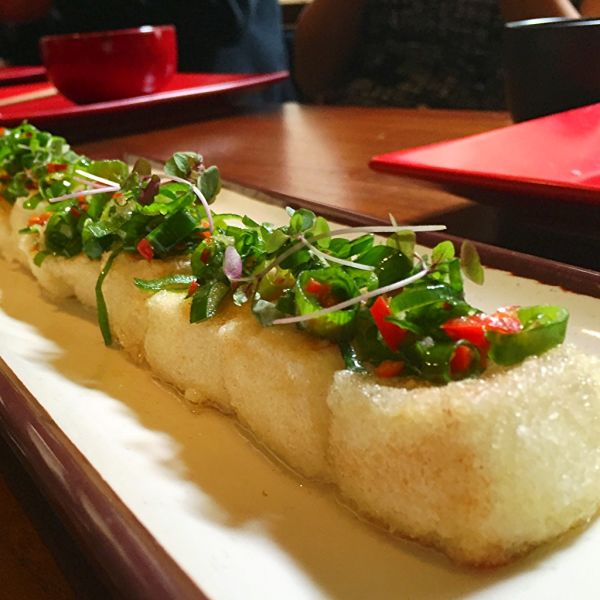 Delicious silken tofu