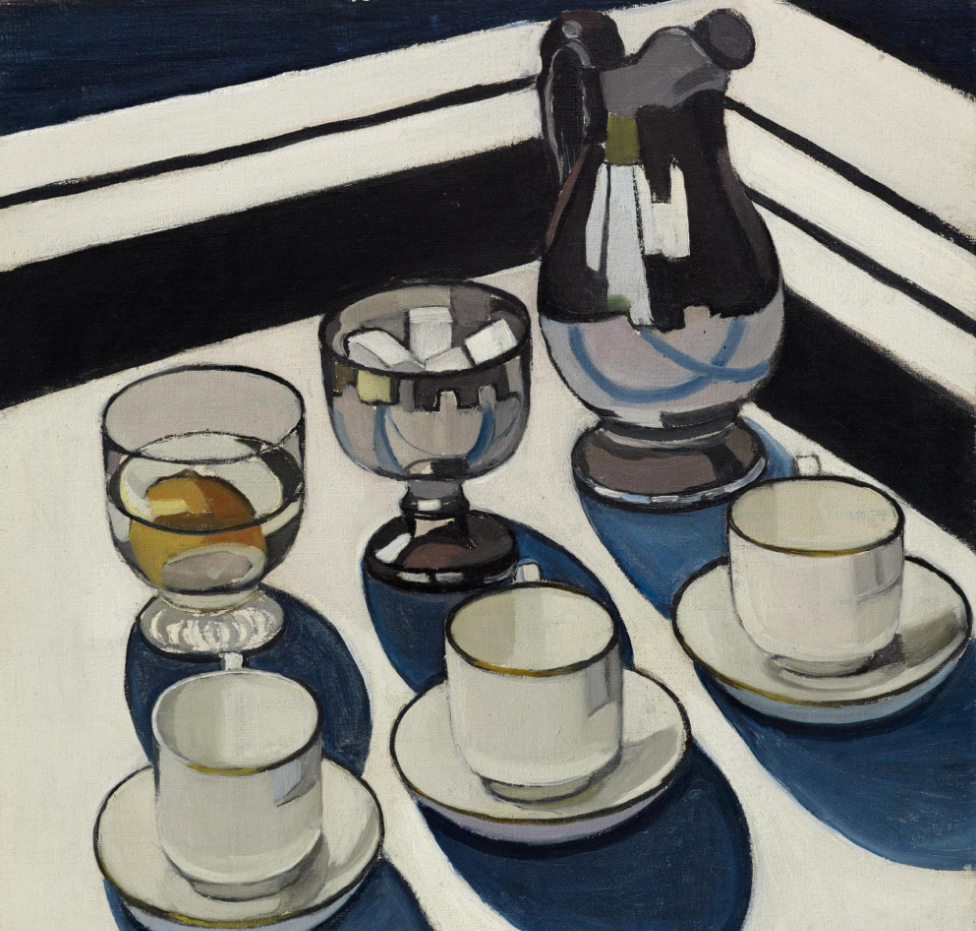 Margaret Preston, Implement Blue, 1927.