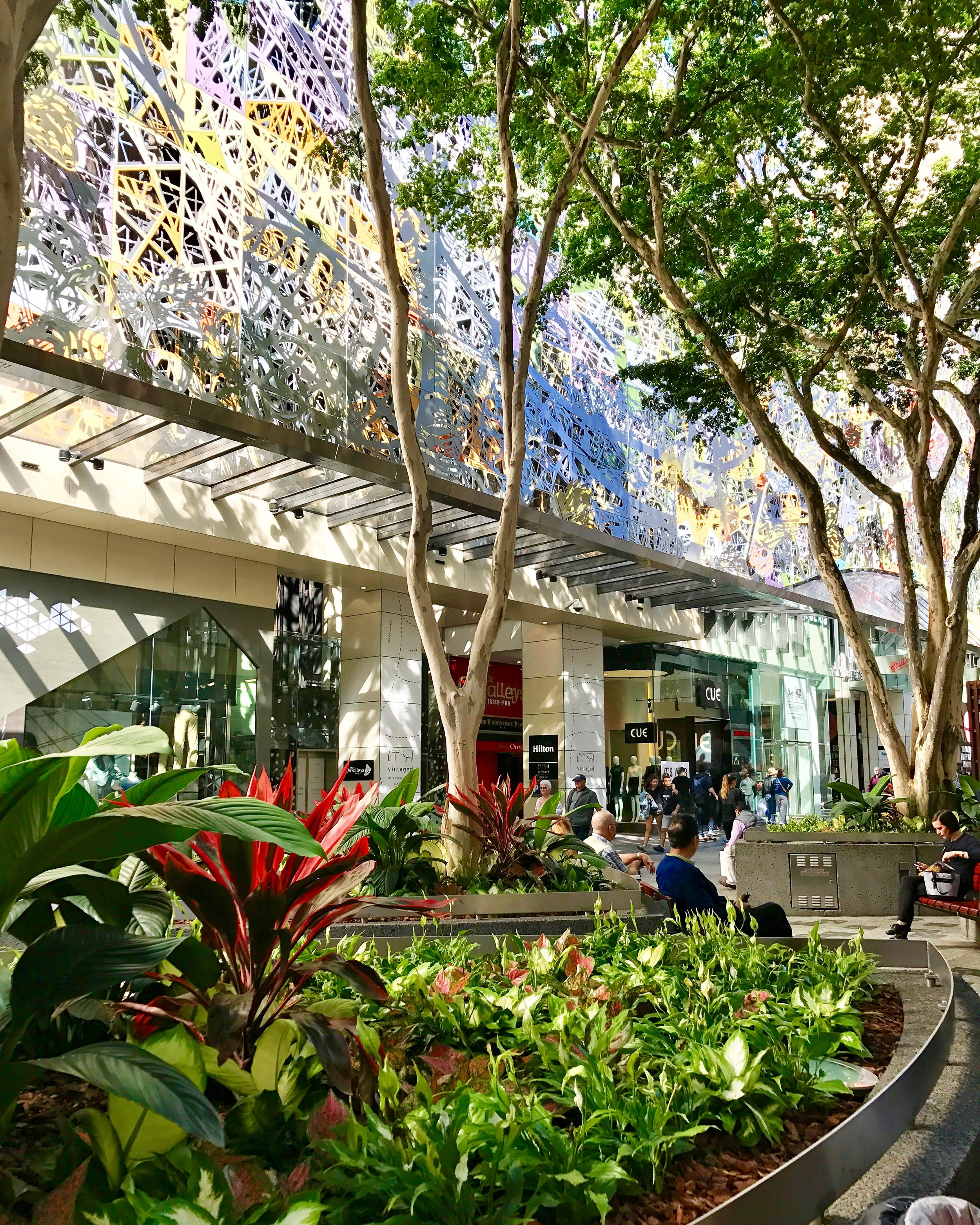 Queen Street Mall - Image credit Lady Brisbane c.
