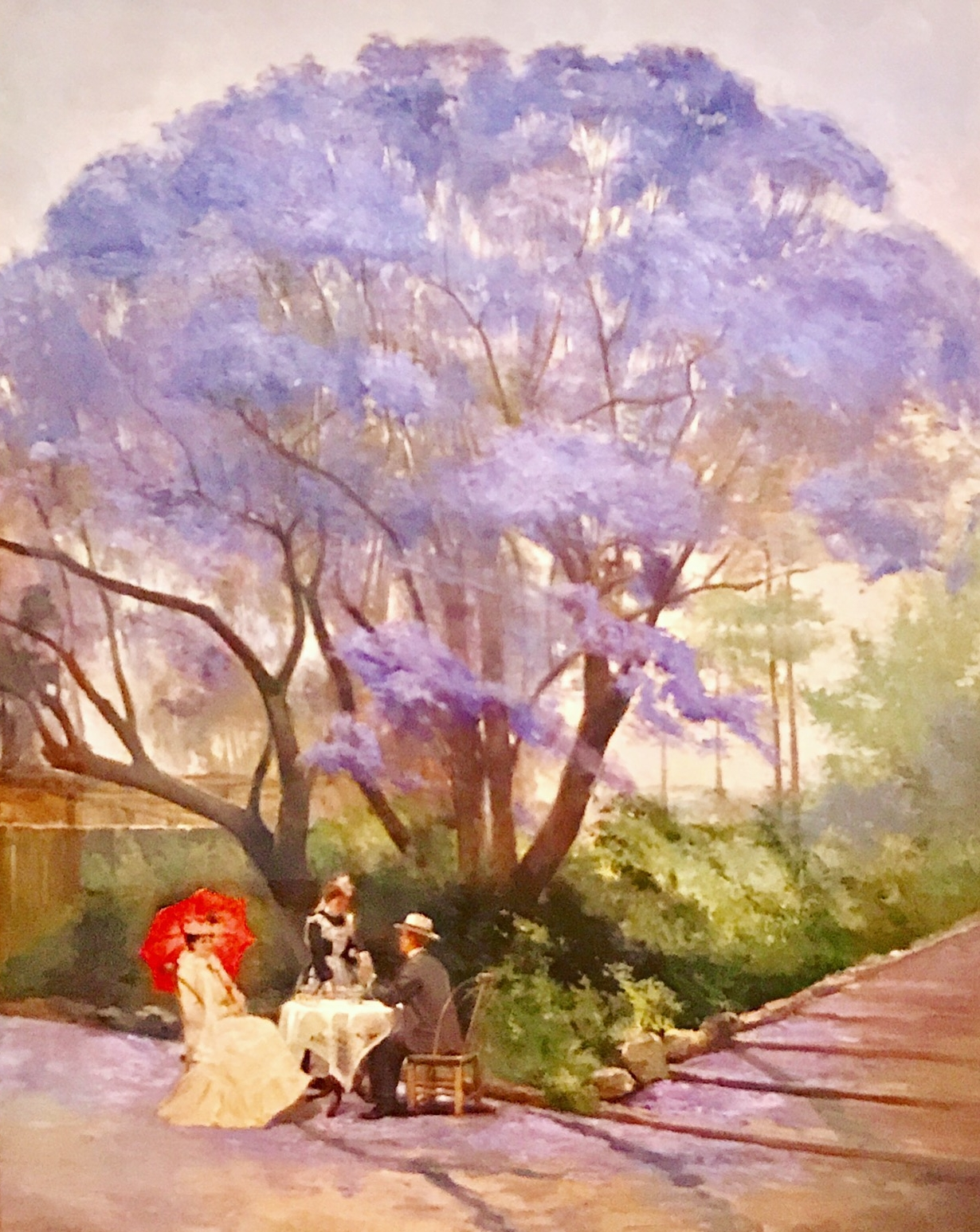 Under the Jacaranda, Godfrey Rivers, 1903.