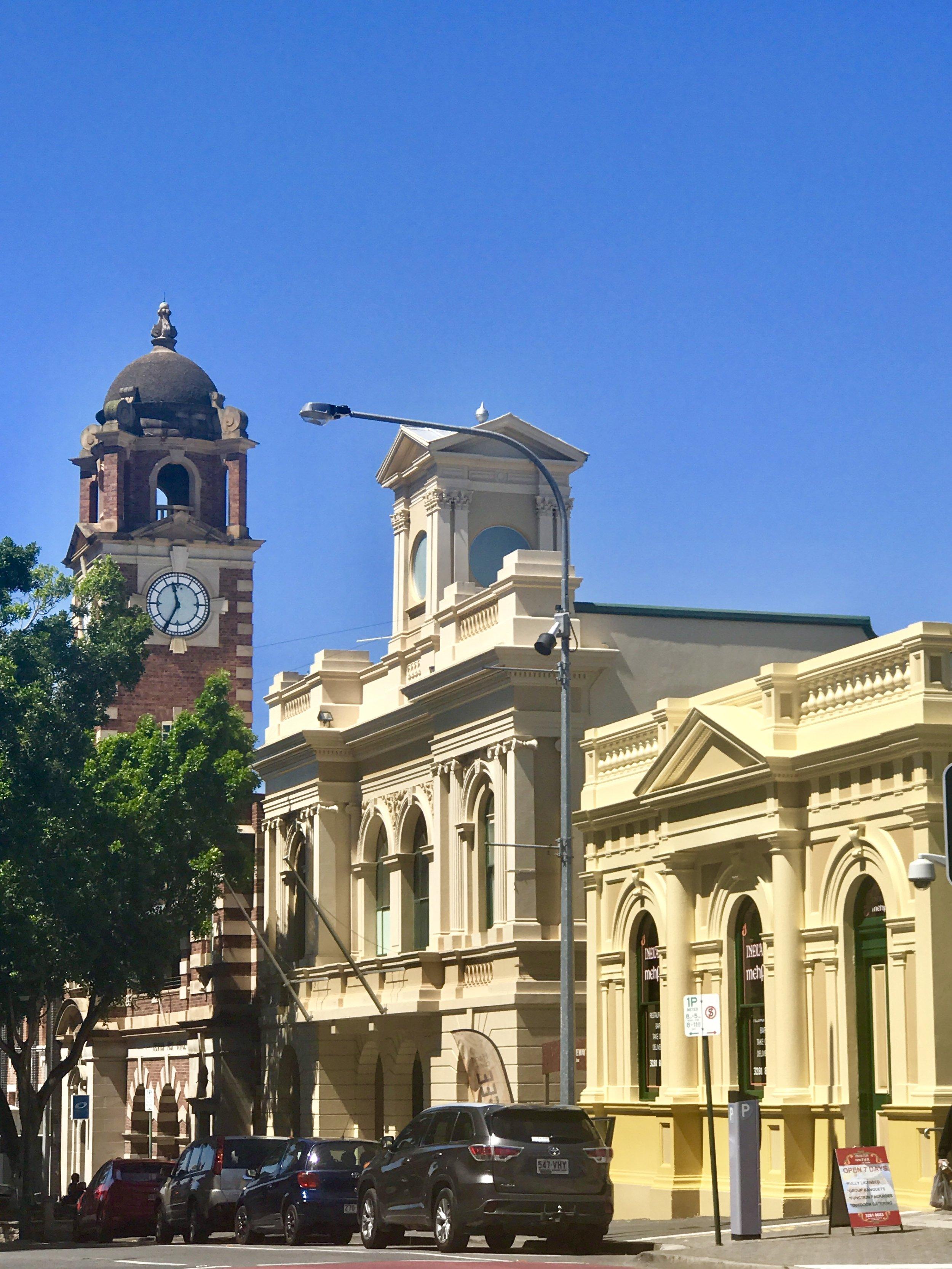 Brisbane Street heritage buildings