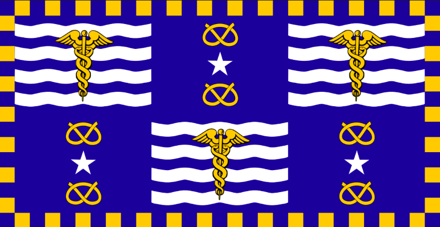 Brisbane flag - Lady Brisbane
