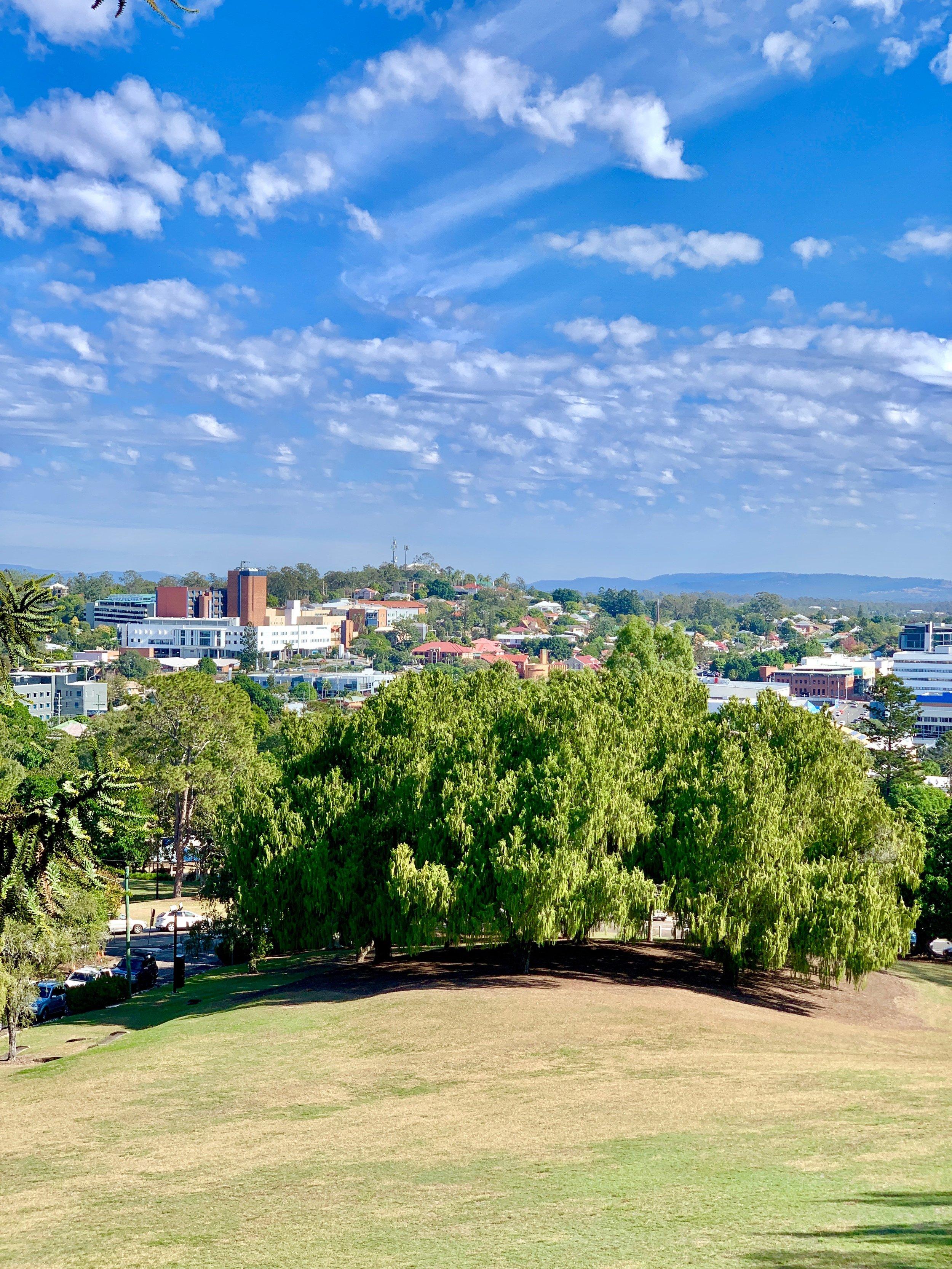 Lady Brisbane Queen's Park lookout views
