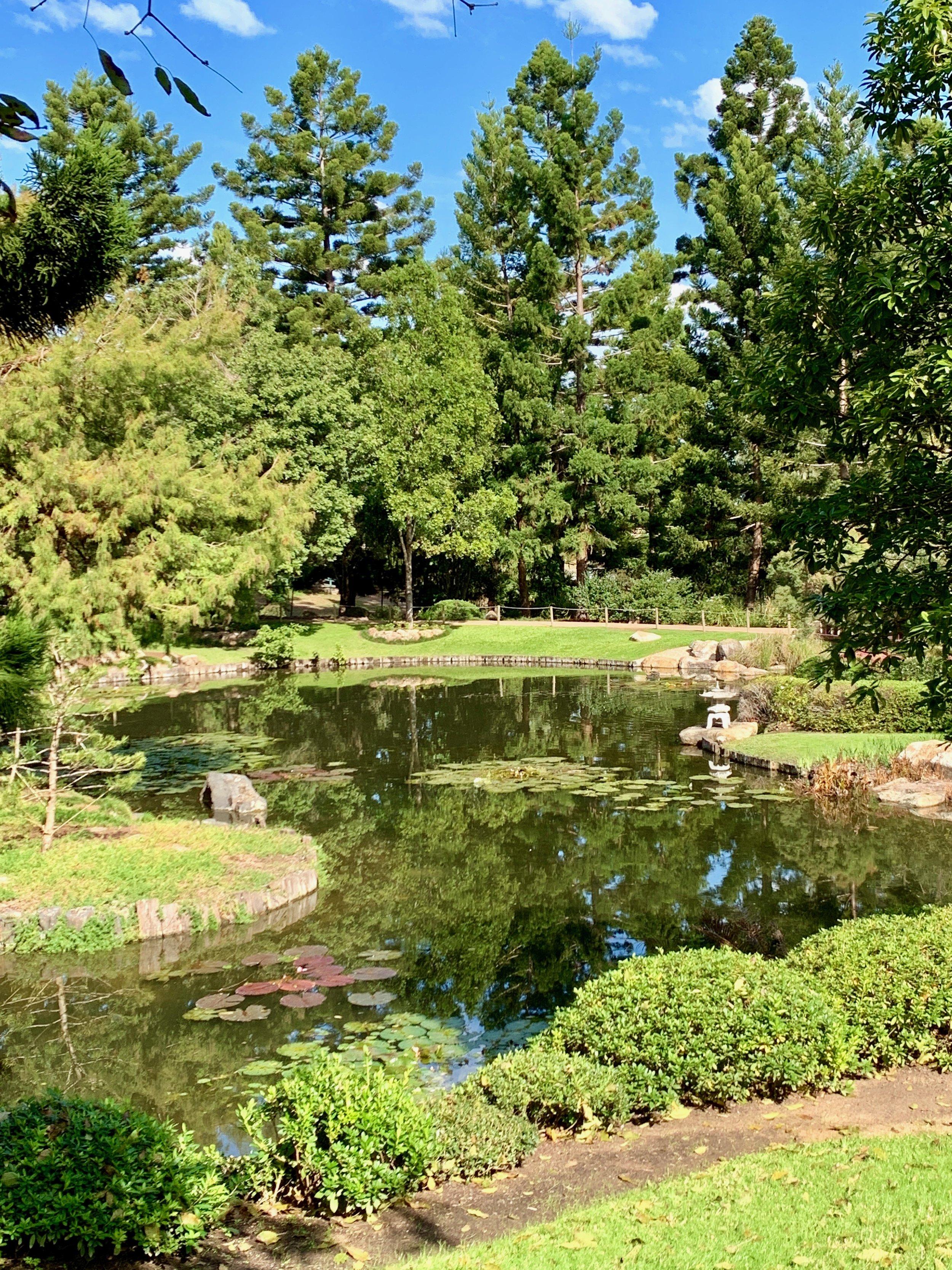 Lady Brisbane Nerima Gardens Japanese gardens