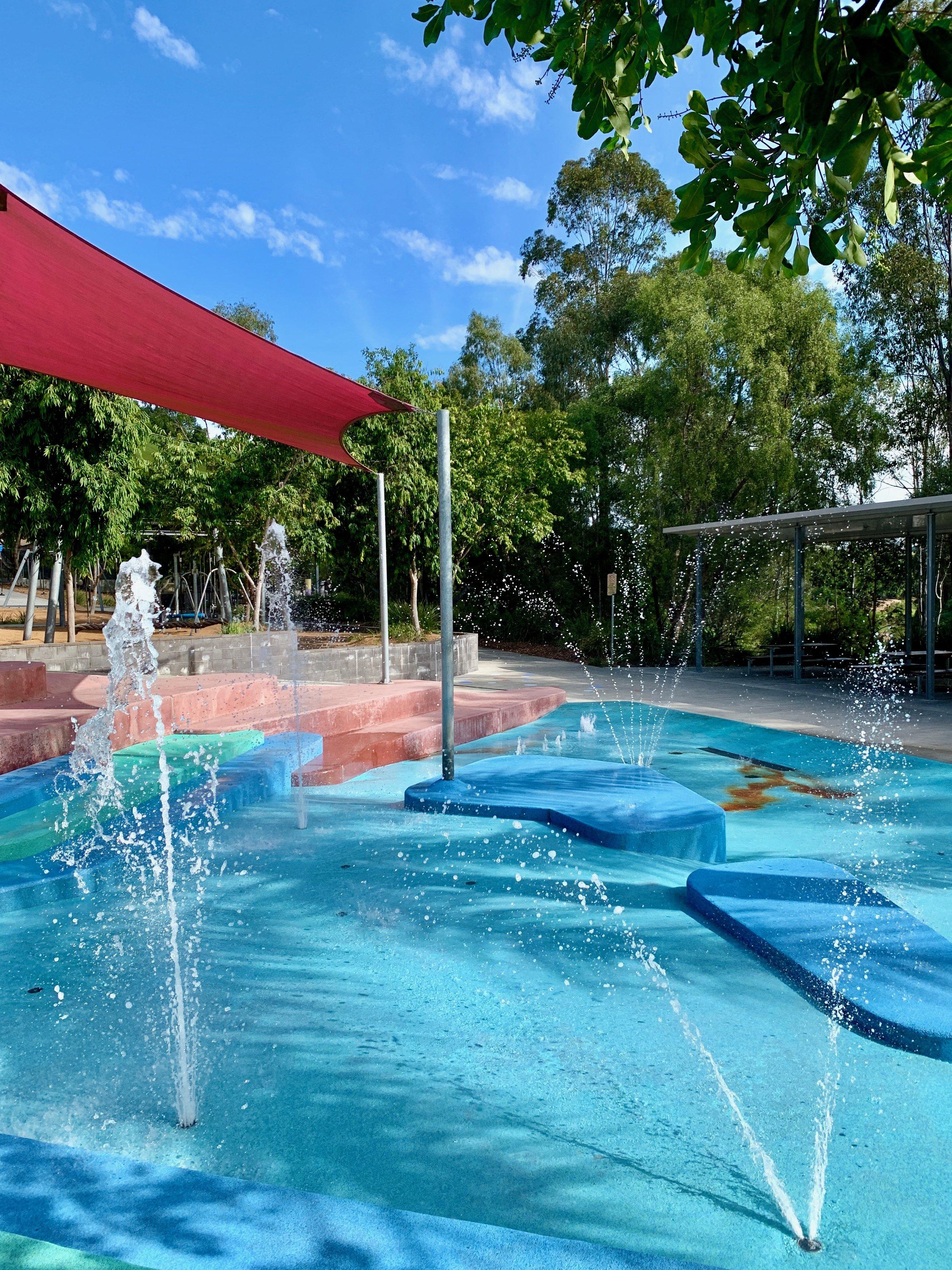 Lady Brisbane Bob Gamble water park Ipswich