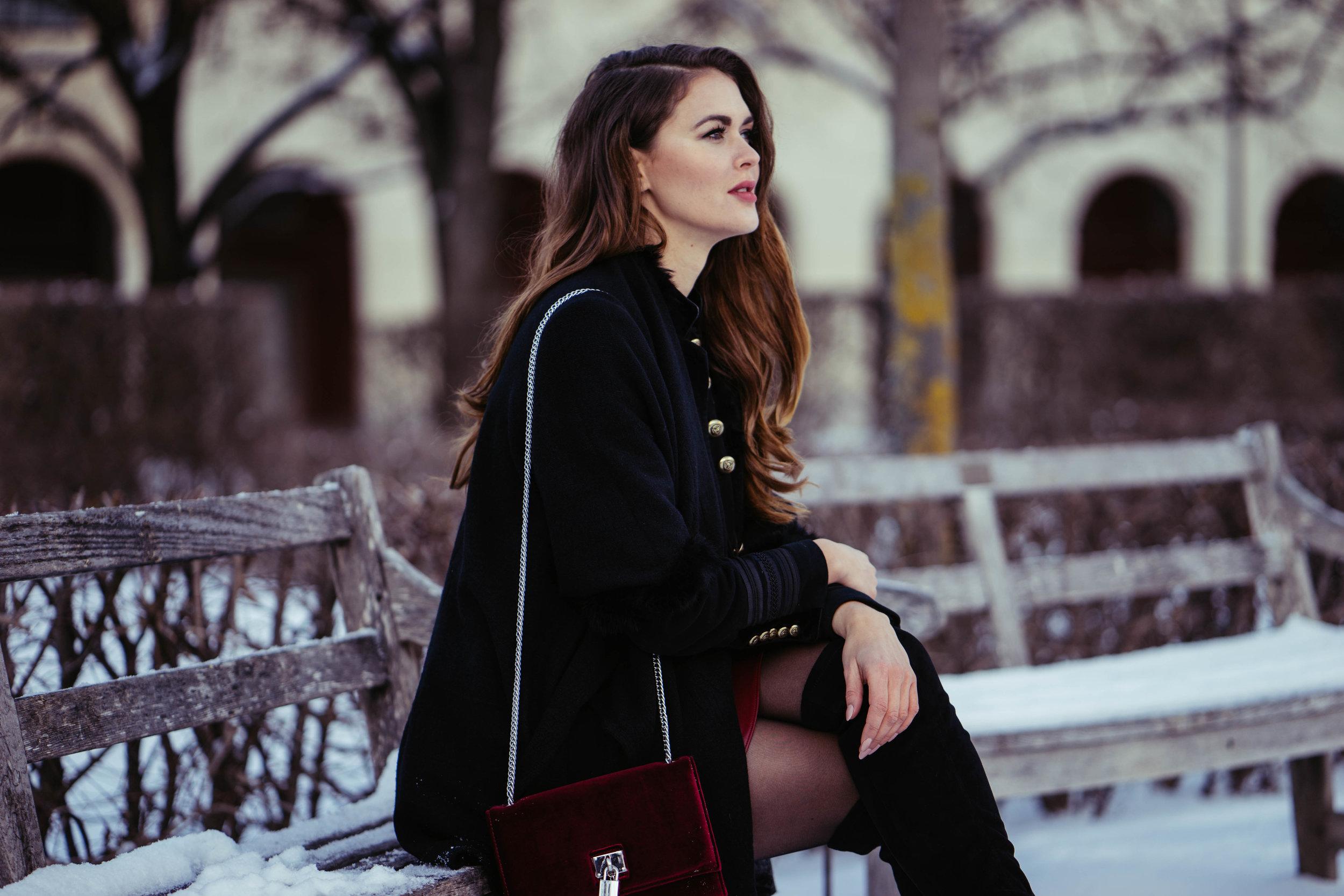 Winter shoot for Julia