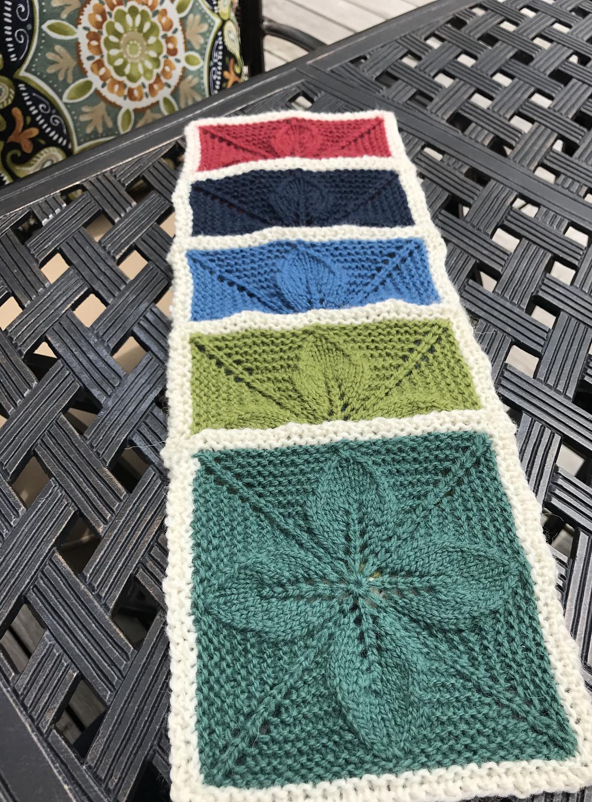 Leigh's (Leila) Birlinn Blanket in progress