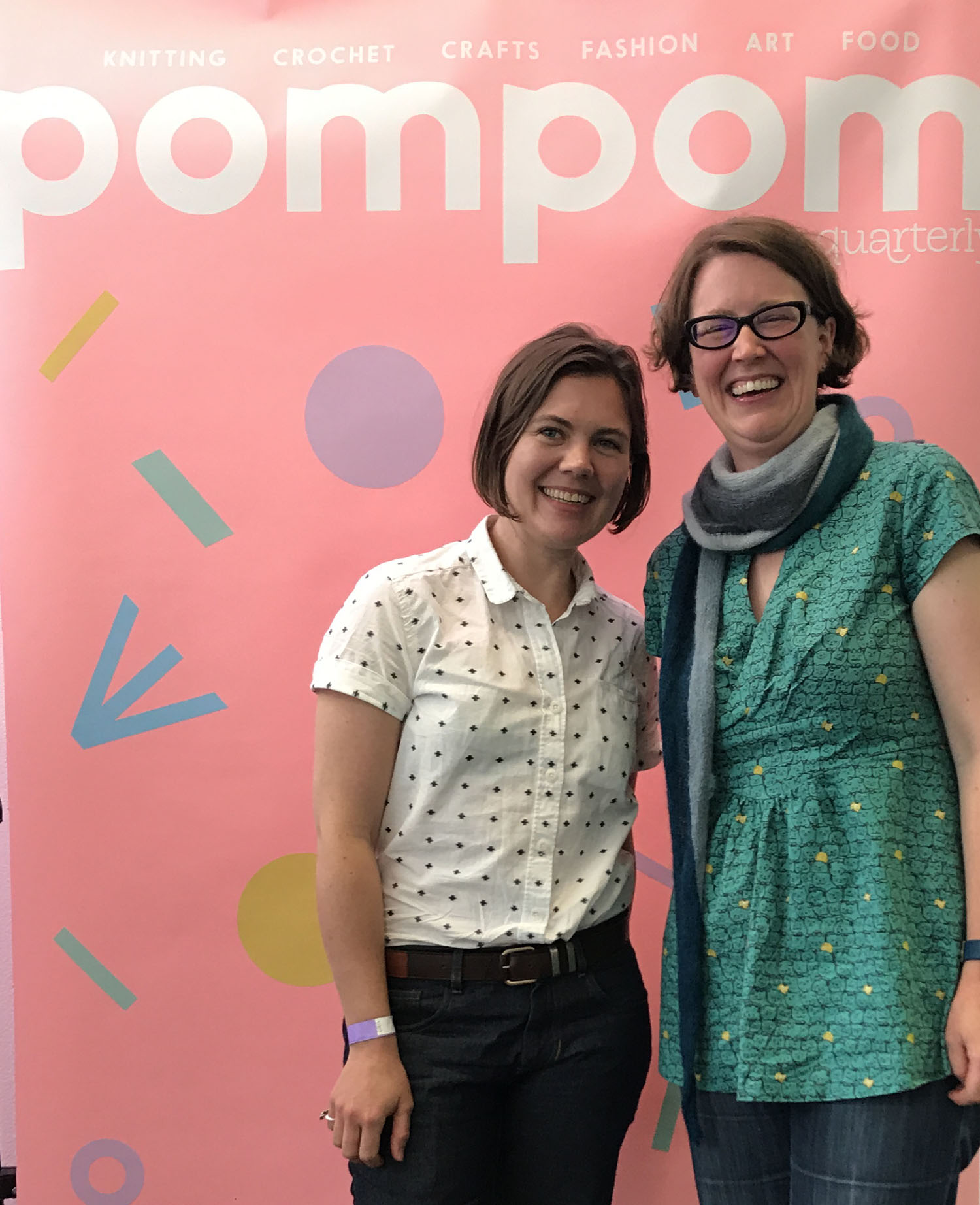 Pomfest was a brilliant opportunity to catch up with other designers.