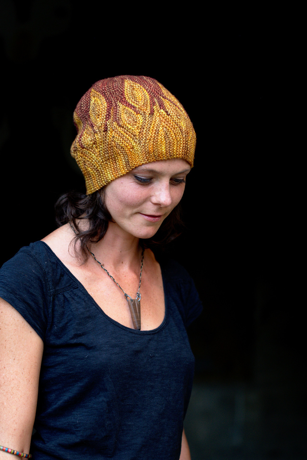 Azula featured flame-like shapes swirling at the brim of the hat. Image © Woolly Wormhead.