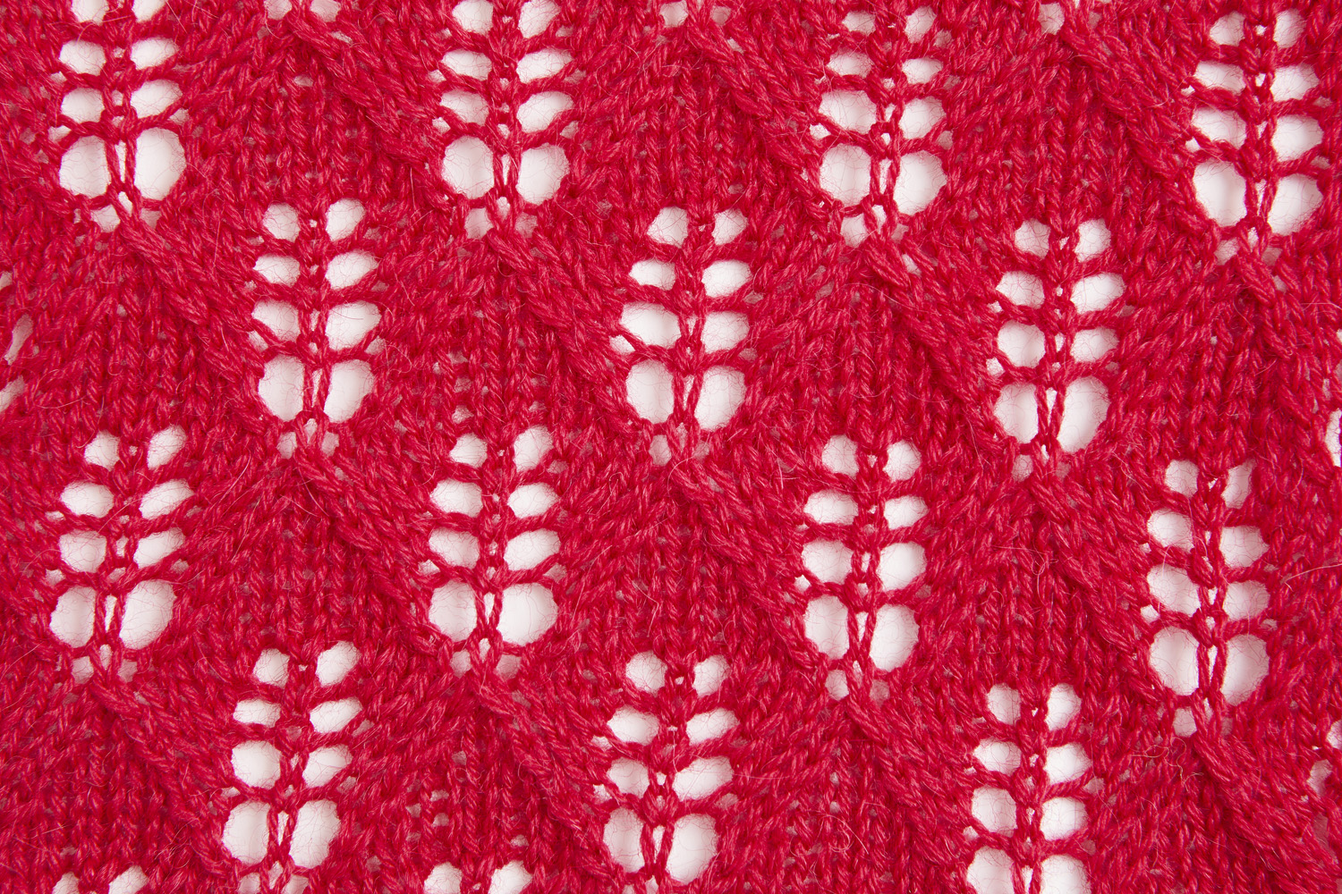 We developed a yarn that has great stitch definition and blocks beautifully for lace. Image © Jesse Wild.