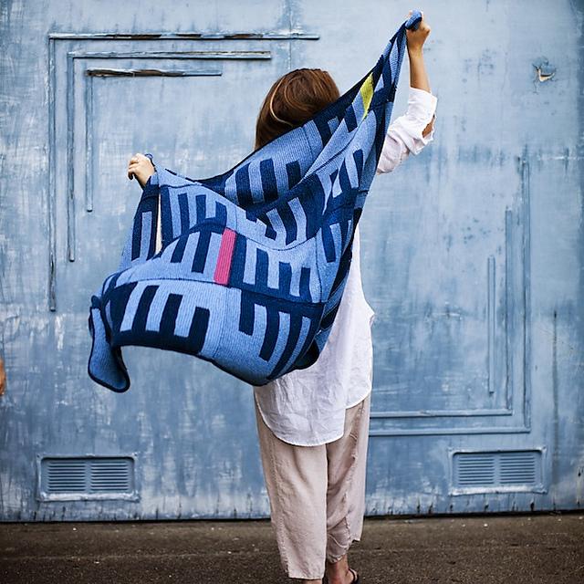 Picket Fence Afghan by Julia Farwell-Clay