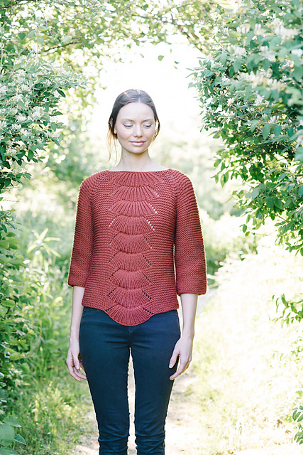 Camilla Pullover by Carrie Bostick Hoge