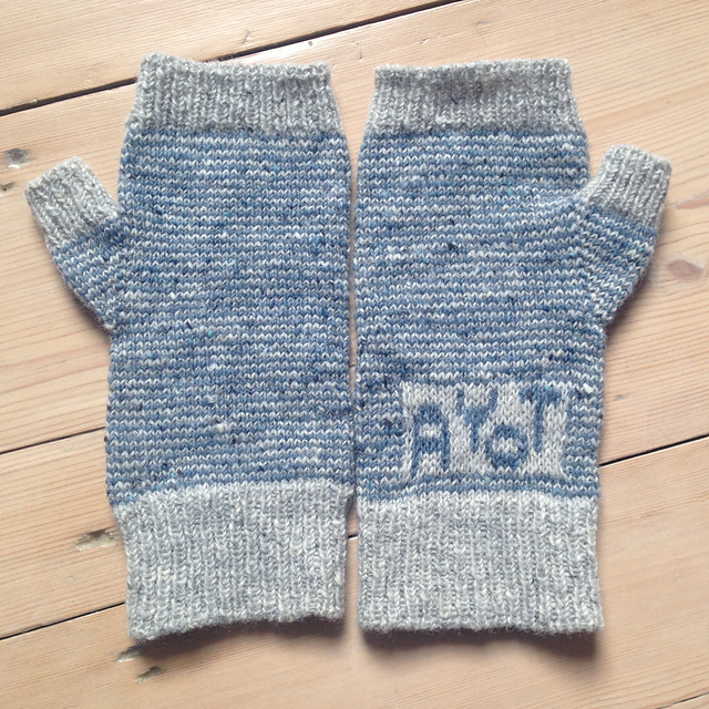 Sarah knitted the AYoT initials into a number of her projects, which was a great modification! You can see more of her helpful notes on her Ravelry page here:  CeruleanSarah