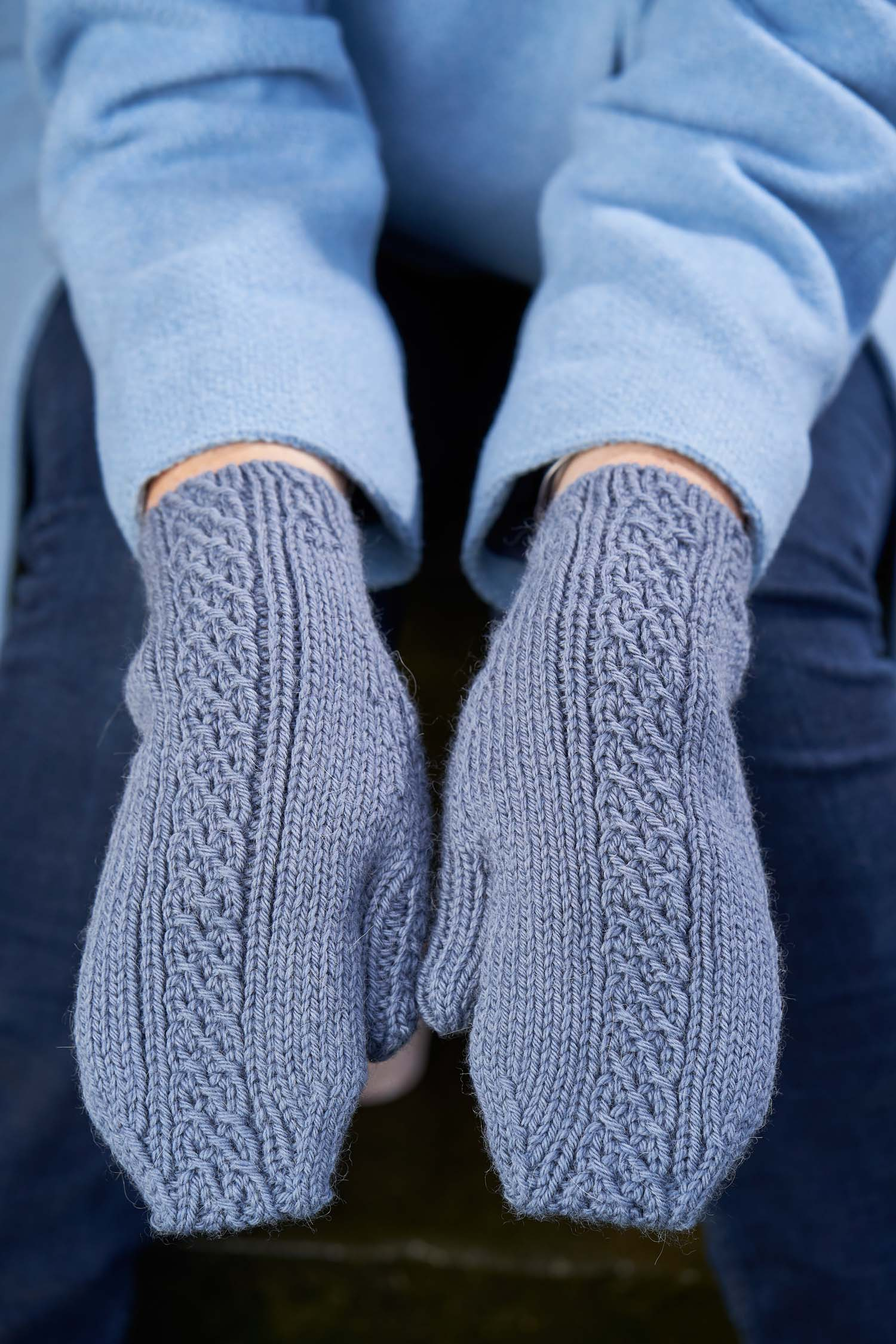 The Totally Tubular Mittens by Sarah Hatton. Image © Jesse Wild.