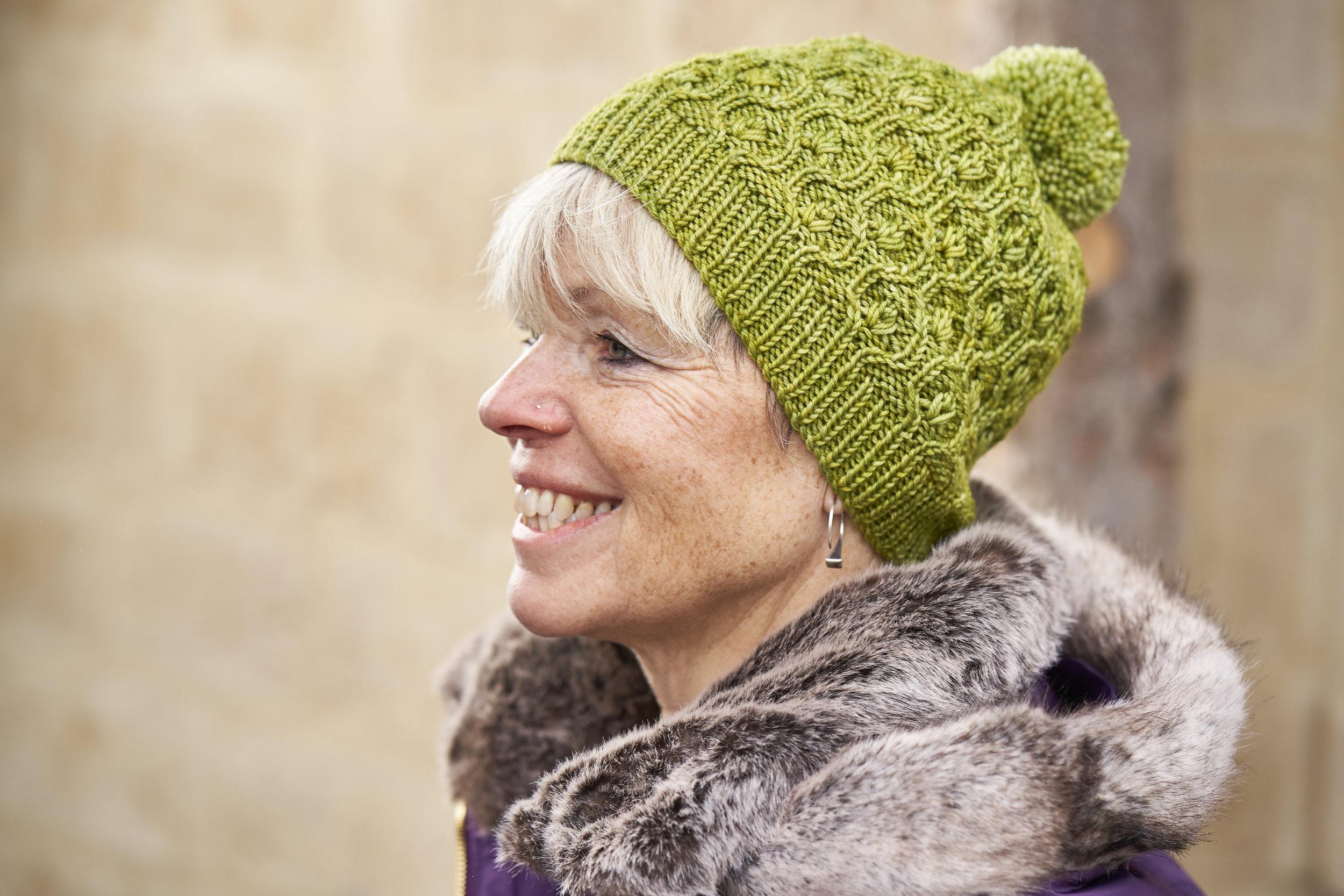 A hat to make you smile! Photo © Thea Colman.