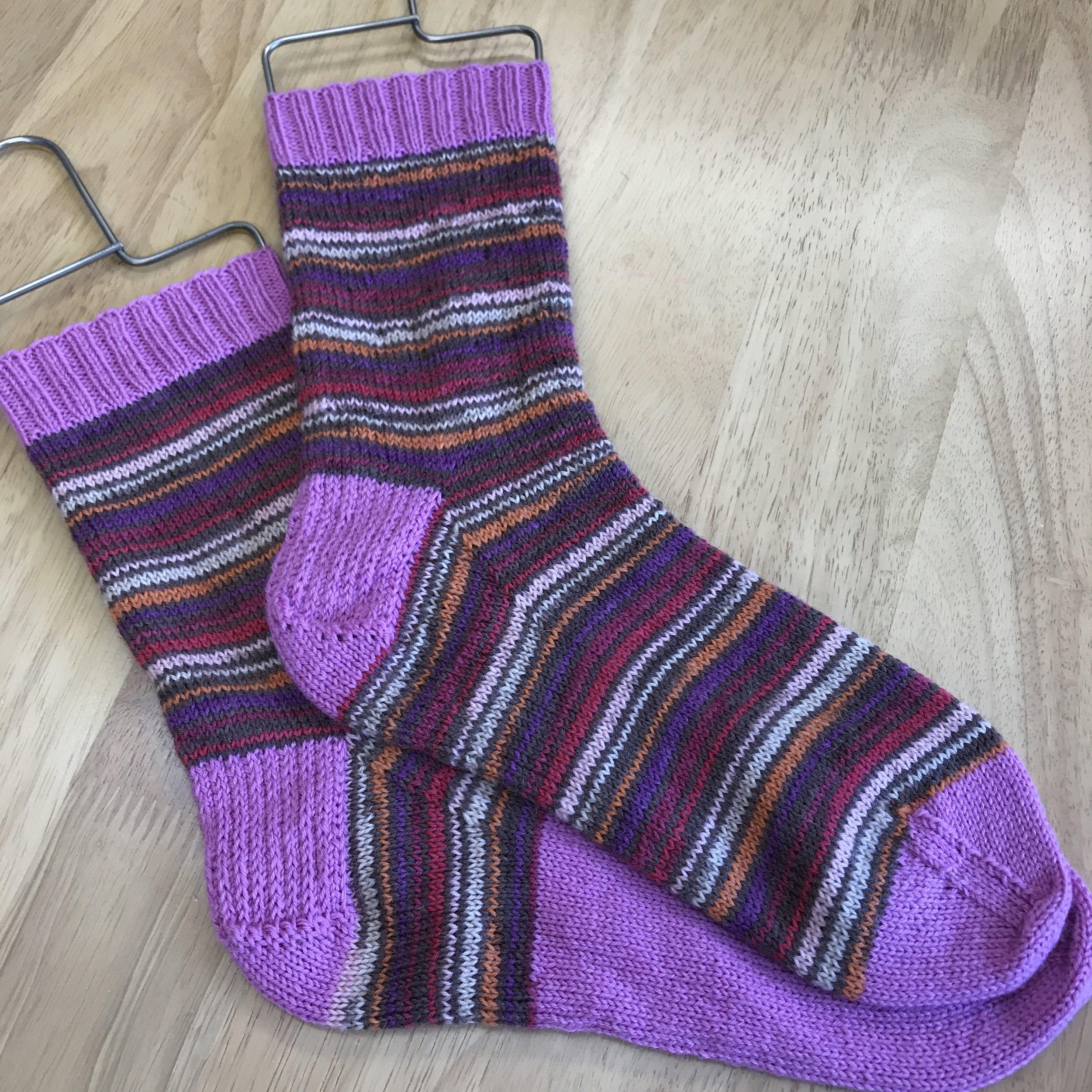 Scrappy socks.JPG
