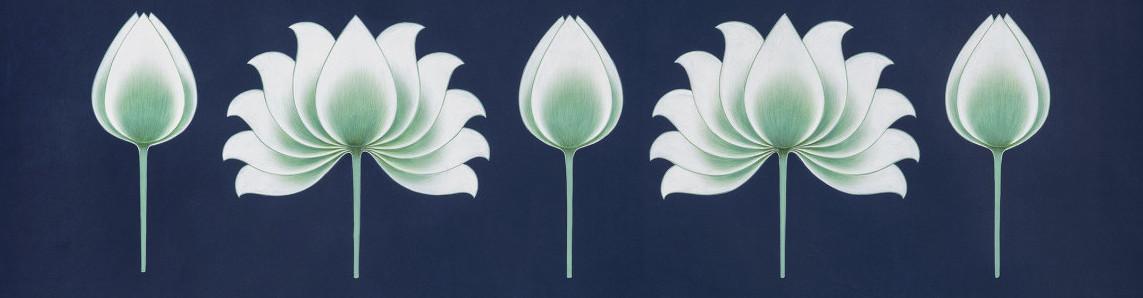 Arte por Olivia Fraser - Jardín Sagrado