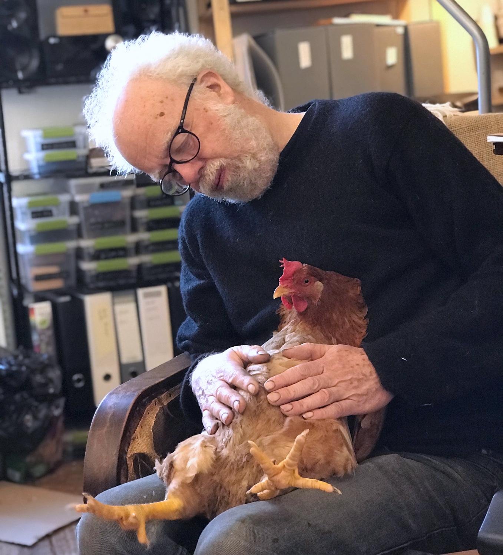 Simon visits with Flaubert