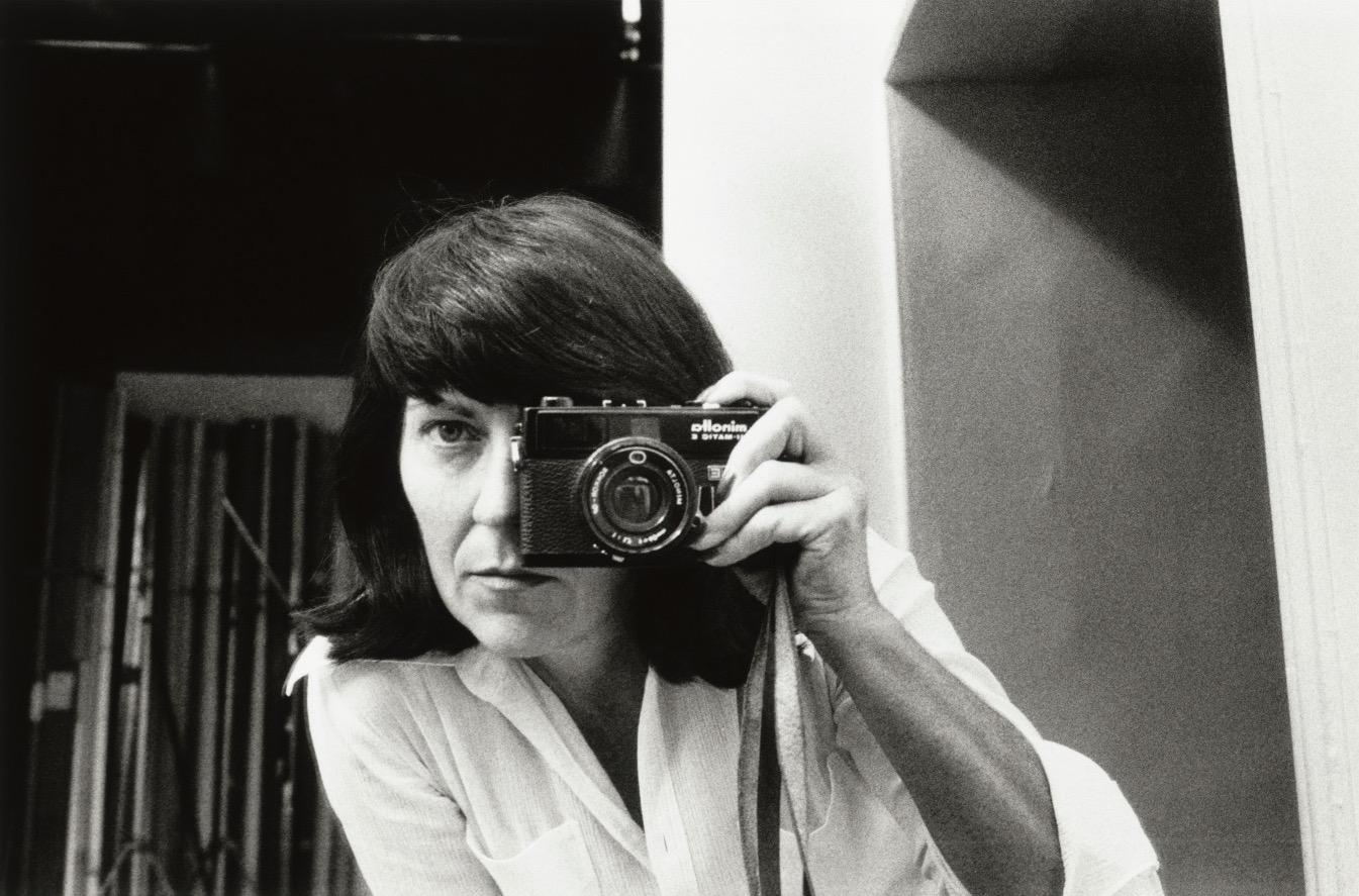 'Self-portrait, rue Aubriot, Paris, 1972' © Alice Springs