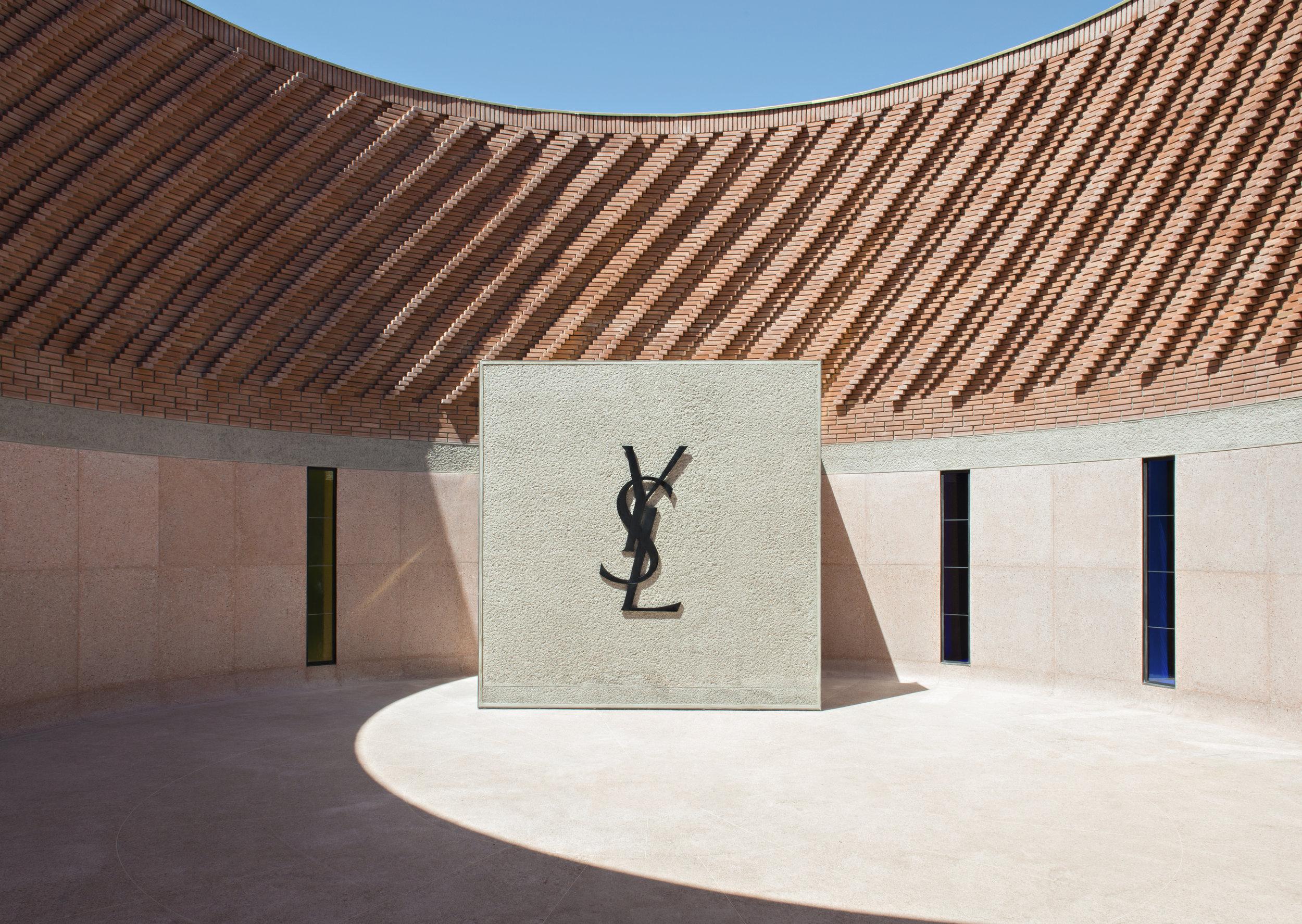'Patio circulaire' Photo © Fondation Jardin Majorelle / Photo Nicolas Mathéus