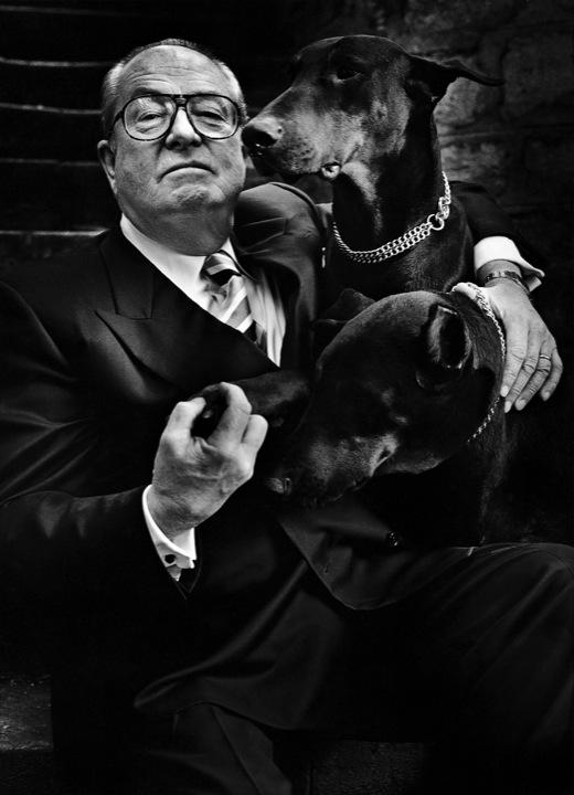 Jean-Marie Le Pen, New Yorker, Paris, 1997