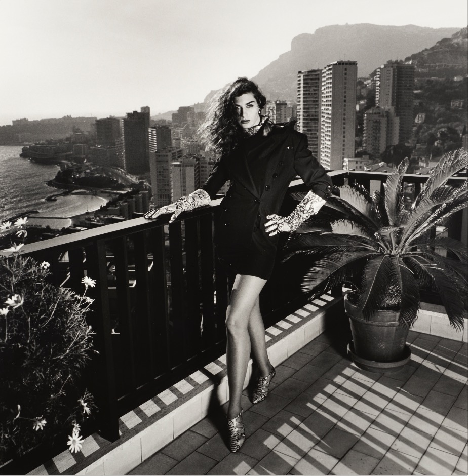 HN On my terrace, Monte Carlo, 1990 (dressed) LR.jpg