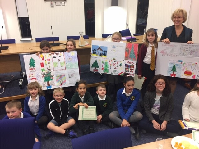 Congratulations to Chloe Bolton of Brackley Junior School, the winner of my annual Christmas card competition!  Read more here .