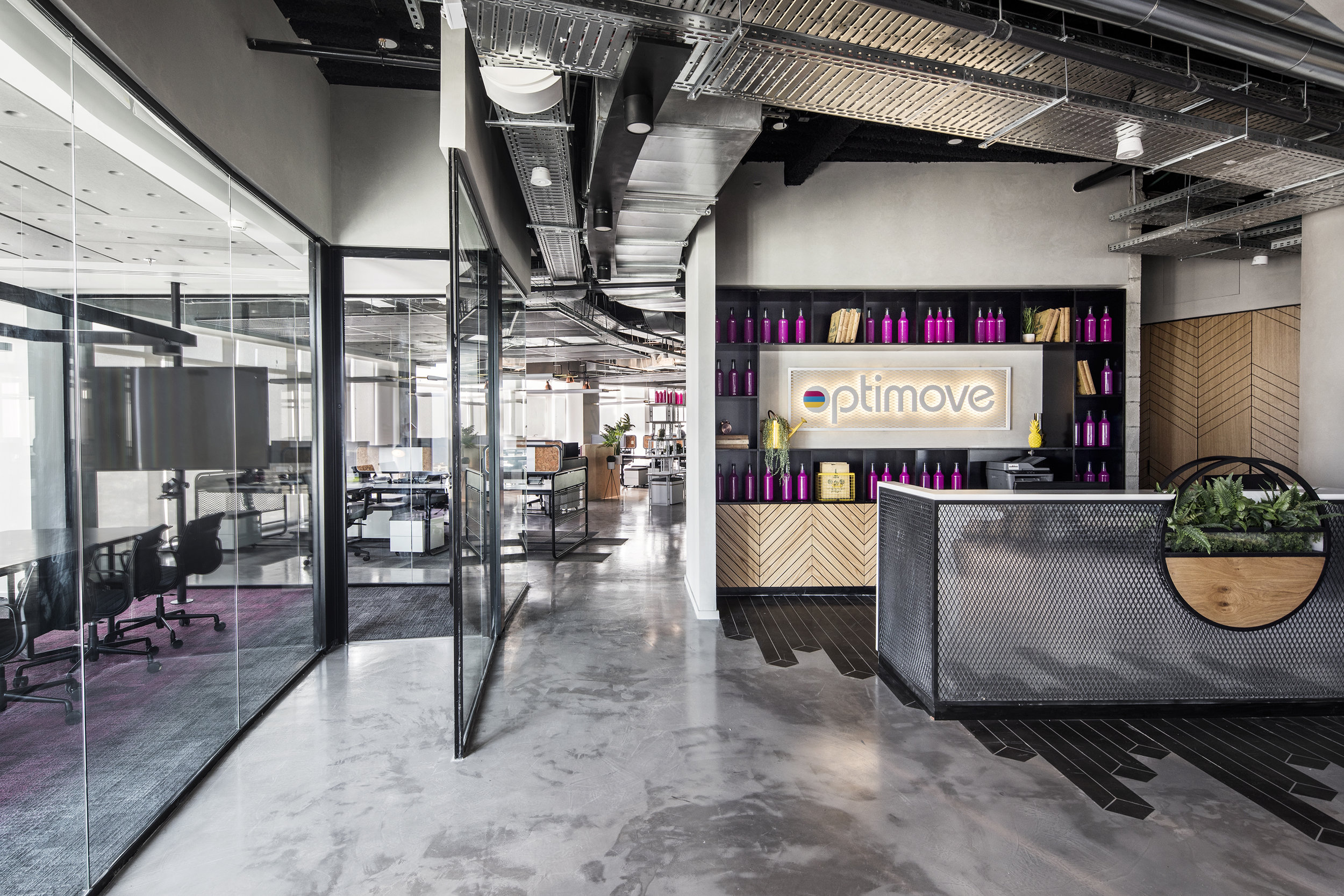 optimove offices - roy david architecture studio